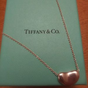 Tiffany Bean Necklace